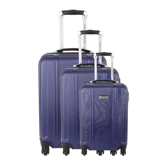 ensemble de 3 valises ambre bleu pascal morabito achat vente set de valises 3607070649503. Black Bedroom Furniture Sets. Home Design Ideas