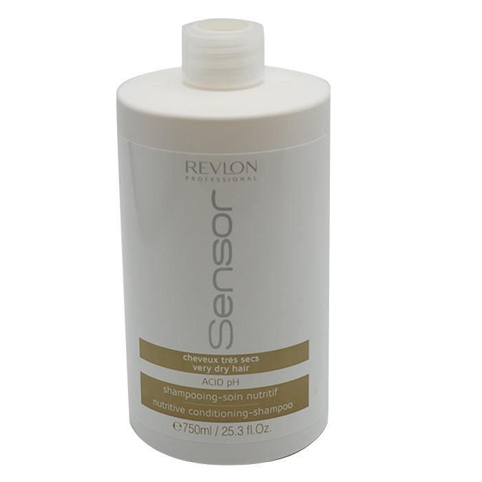 shampoing cheveux tr s secs 750ml sensor secs et ab m s revlon femme achat vente. Black Bedroom Furniture Sets. Home Design Ideas