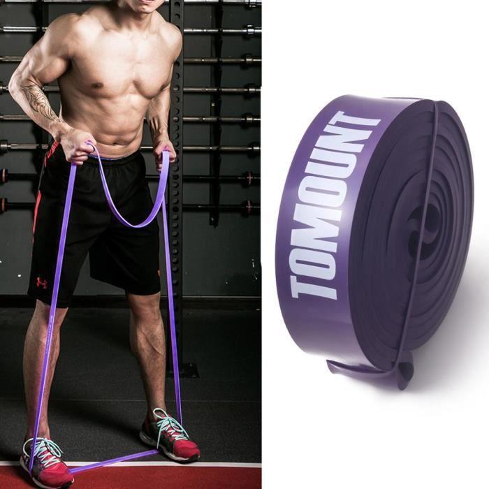 TOMOUNT Résistance Band D'exercices Elastique Musculation