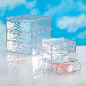 rangement plastique 3 tiroirs achat vente rangement plastique 3 tiroirs pas cher soldes. Black Bedroom Furniture Sets. Home Design Ideas