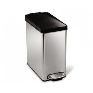 Poubelle 10l achat vente poubelle 10l pas cher cdiscount - Poubelle cuisine etroite ...