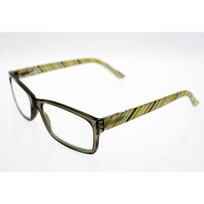 lunettes pre montees loupe avec etui souple er4 gris jaune achat vente lunettes de lecture. Black Bedroom Furniture Sets. Home Design Ideas