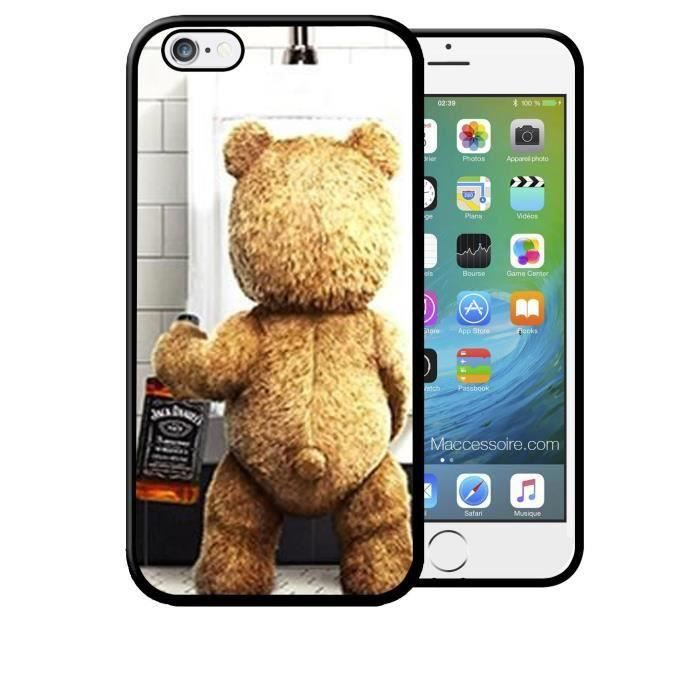 coque galaxy s7 edge teddy et sa bouteille jack daniel 39 39 s whisky apple swag fun neuf achat. Black Bedroom Furniture Sets. Home Design Ideas