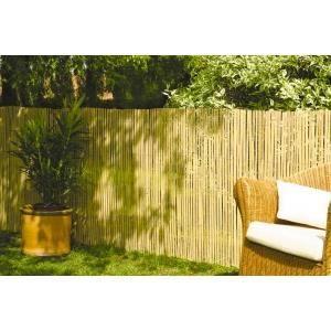 Canisse bambou fendu 1 5mx5m achat vente cl ture - Canisse en bambou ...