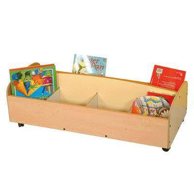 bac livres en bois avec roulettes achat vente boite de rangement bois cdiscount. Black Bedroom Furniture Sets. Home Design Ideas