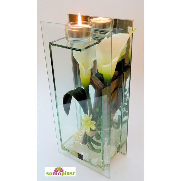 composition florale avec arums artificiels va achat. Black Bedroom Furniture Sets. Home Design Ideas
