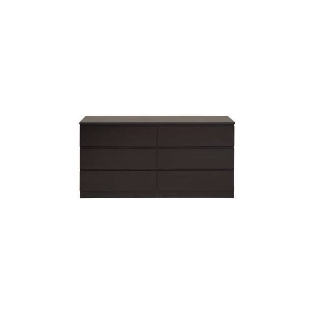 Home commode 6 tiroirs couleur weng achat vente commode de chambre h - Commode 6 tiroirs wenge ...