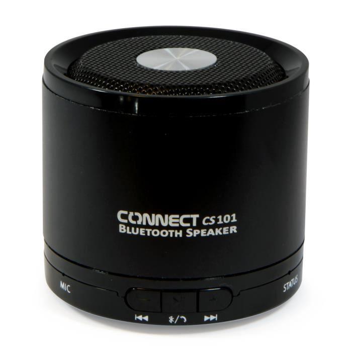 connect cs101 enceinte portable bluetooth noir achat. Black Bedroom Furniture Sets. Home Design Ideas