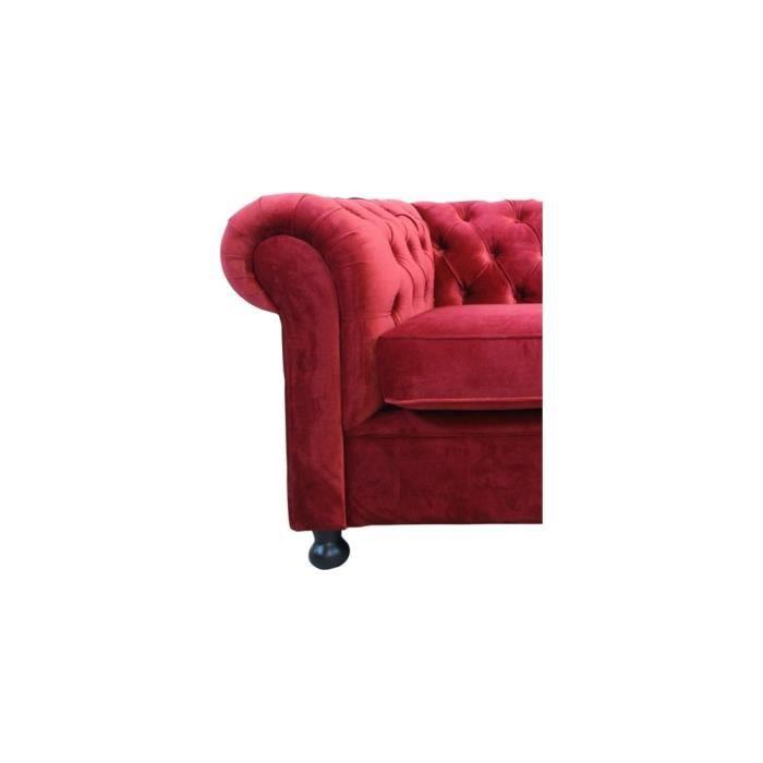 Fauteuil 1 place en tissu de qualit chesterfield achat vente fauteuil - Fauteuil chesterfield tissu ...