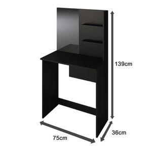 coiffeuse achat vente coiffeuse pas cher les soldes sur cdiscount cdiscount. Black Bedroom Furniture Sets. Home Design Ideas