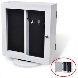 armoire rangement en verre achat vente armoire rangement en verre pas cher cdiscount. Black Bedroom Furniture Sets. Home Design Ideas