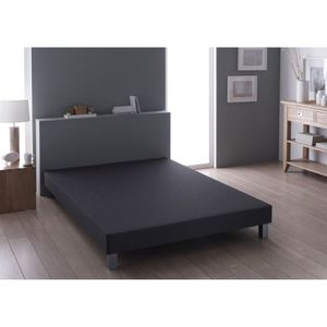 SOMMIER Sommier Relaxima Anthracite 2x90x200
