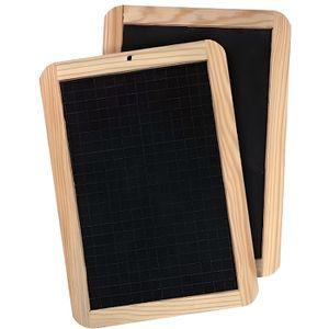 ardoise avec cadre en bois achat vente ardoise avec cadre en bois pas cher cdiscount. Black Bedroom Furniture Sets. Home Design Ideas