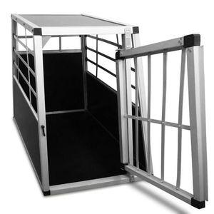 cage transport chien aluminium achat vente cage transport chien aluminium pas cher les. Black Bedroom Furniture Sets. Home Design Ideas