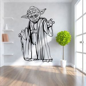 Stickers muraux star wars achat vente stickers muraux for Autocollant mural star wars