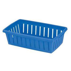 panier de rangement en plastique de couleur achat vente panier de rangement en plastique de. Black Bedroom Furniture Sets. Home Design Ideas