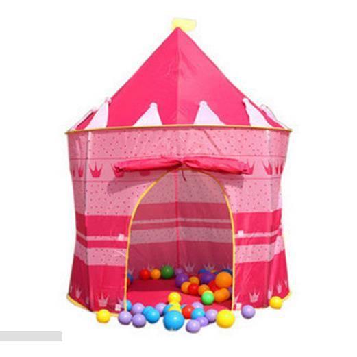 tente de jeu ronde pour enfants ch teau de princesse. Black Bedroom Furniture Sets. Home Design Ideas
