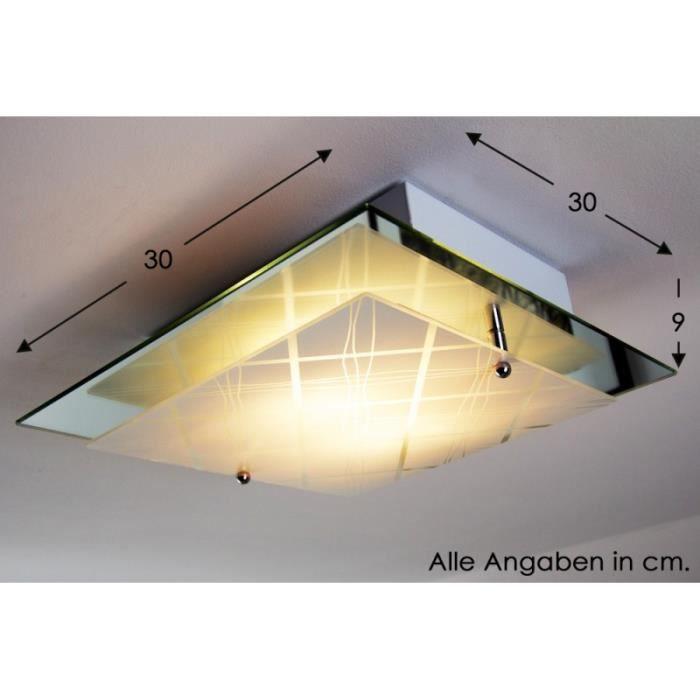 plafonnier lampe de s jour lampe suspension verre achat vente plafonnier rimini lustre verre. Black Bedroom Furniture Sets. Home Design Ideas