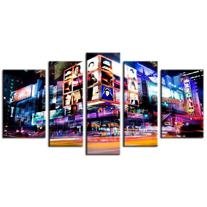 Tableau contemporain the madnesses of new york achat vente tableau to - Achat tableau contemporain ...