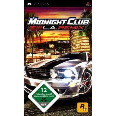 JEU PSP Midnight Club : L.A. remix - platinum [import a…