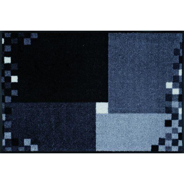 Tapis Design Mosaico Grau 50 X 75 Achat Vente Tapis Cdiscount