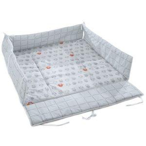 tour de parc 100x100 achat vente tour de parc 100x100 pas cher cdiscount. Black Bedroom Furniture Sets. Home Design Ideas