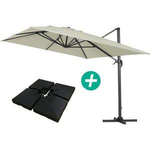 parasol d port 4x3 achat vente parasol d port 4x3. Black Bedroom Furniture Sets. Home Design Ideas