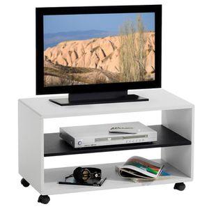 meuble tv 80 cm achat vente meuble tv 80 cm pas cher cdiscount. Black Bedroom Furniture Sets. Home Design Ideas