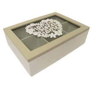 boite en bois compartimentee achat vente boite en bois. Black Bedroom Furniture Sets. Home Design Ideas