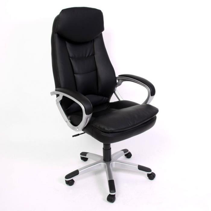 Fauteuil chaise de bureau hauteur r glable achat vente - Chaise hauteur assise ...