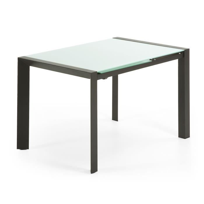 Table extensible arena gris achat vente table a manger sans chaises tabl - Table extensible cdiscount ...