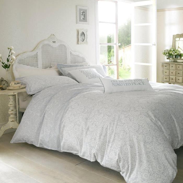 linge de lit parure de drap ashley wilde parure de achat vente parure de drap cdiscount. Black Bedroom Furniture Sets. Home Design Ideas