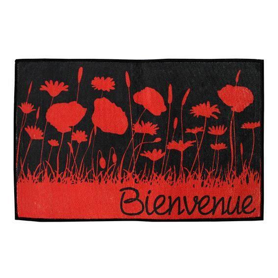 Tapis de cuisine 80 cm coquelicot achat vente tapis for Tapis de cuisine 80 x 120