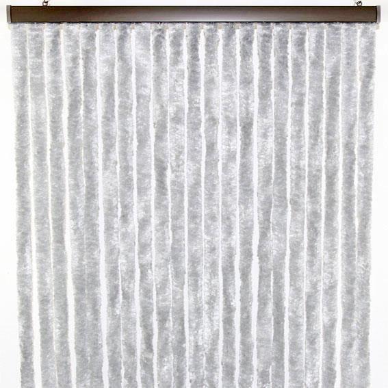 Installation thermique rideaux de porte d 39 entr e chenille for Rideaux de porte d entree isolant