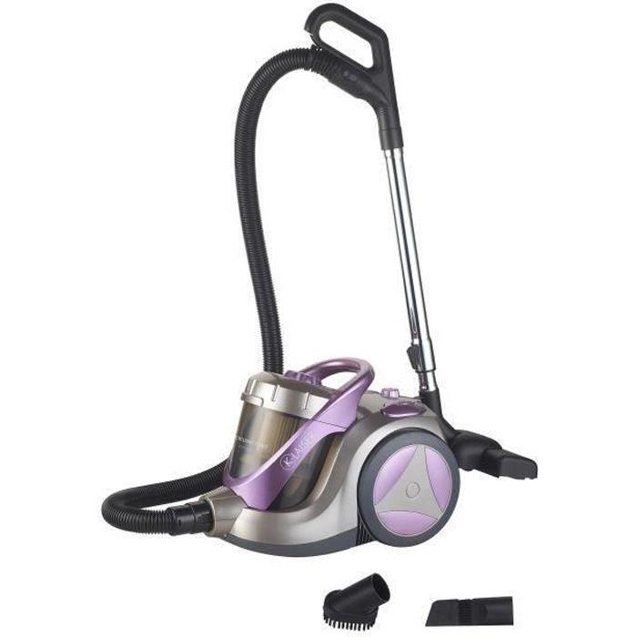 aspirateur cyclone sans sac klaiser xl 2400w achat vente aspirateur traineau petit prix. Black Bedroom Furniture Sets. Home Design Ideas