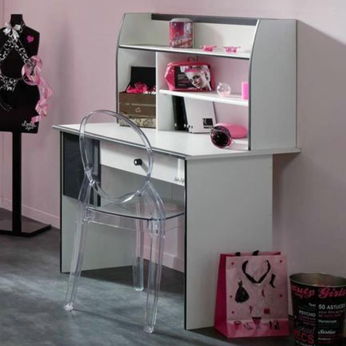 Paris prix bureau enfant cambridge blanc achat for Meuble bureau paris