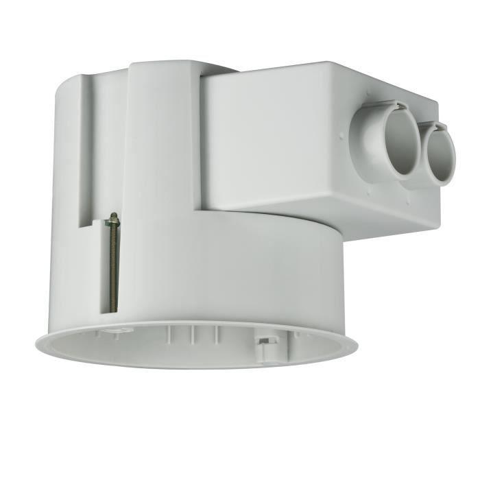 Boitier encastrer pour faux plafond 35w gris achat for Faux plafond plastique