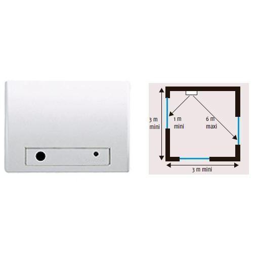 somfy 2400437 d tecteur audiosonique de bris de vi achat vente d tecteur de mouvement les. Black Bedroom Furniture Sets. Home Design Ideas