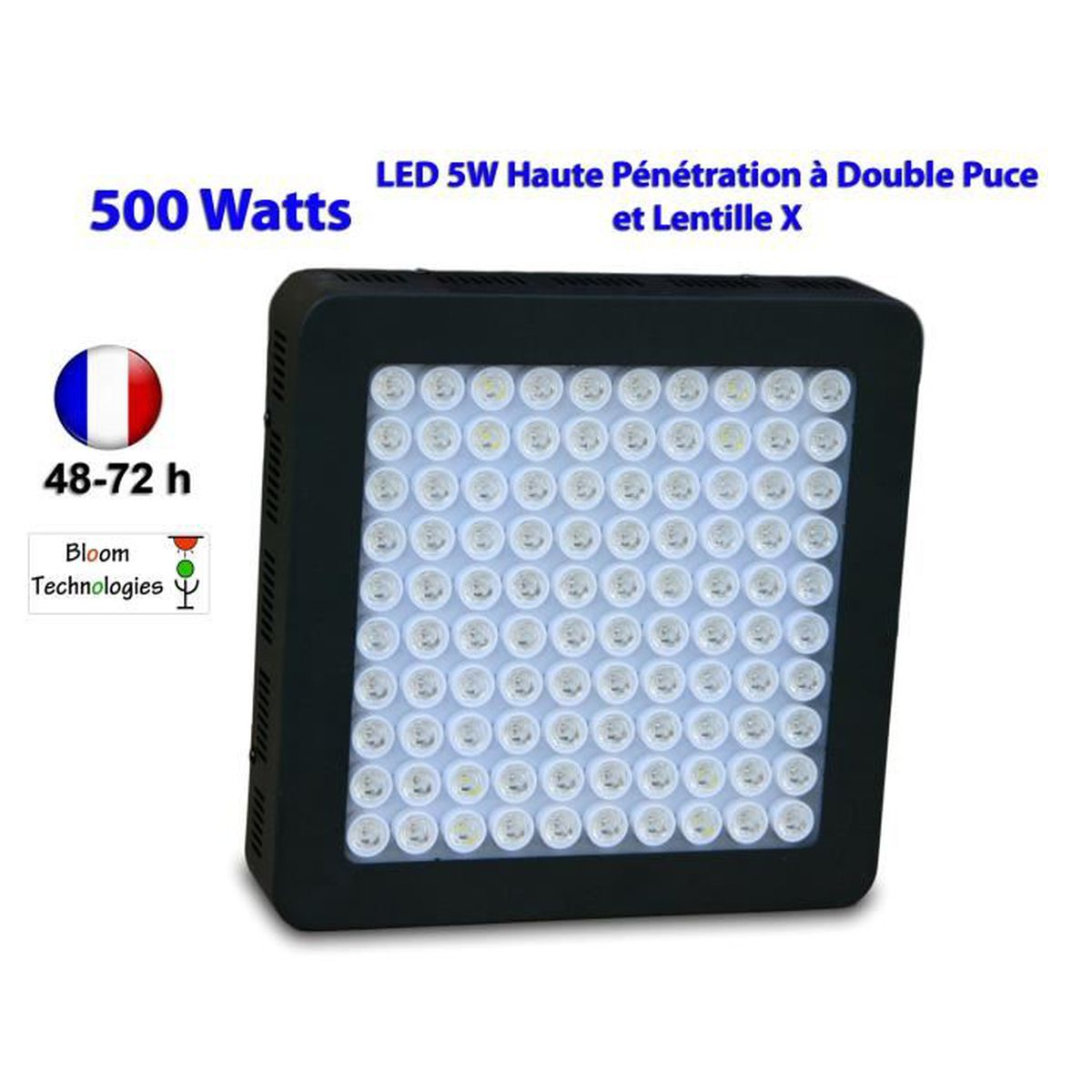 Lampe phyto led horticole culture int rieur 500 w led 5w - Lampe led culture ...