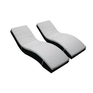 matelas de chaise longue et bain de soleil achat vente matelas de chaise longue et bain de. Black Bedroom Furniture Sets. Home Design Ideas
