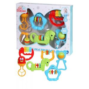 HOCHET COFFRET 6 GRANDS HOCHETS POUR BEBE TELEPHONE CLEF