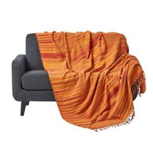 jete canape tissu achat vente jete canape tissu pas cher cdiscount. Black Bedroom Furniture Sets. Home Design Ideas
