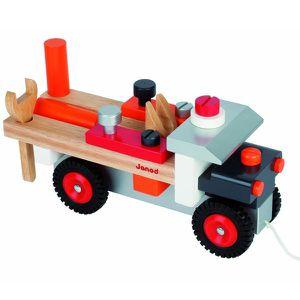 JOUET À TIRER Camion Bricolo à construire - 2 jeux en 1