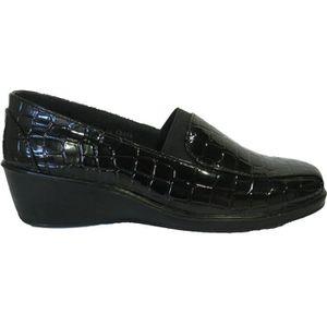 MULE Chaussures compensées pour femmes Noir