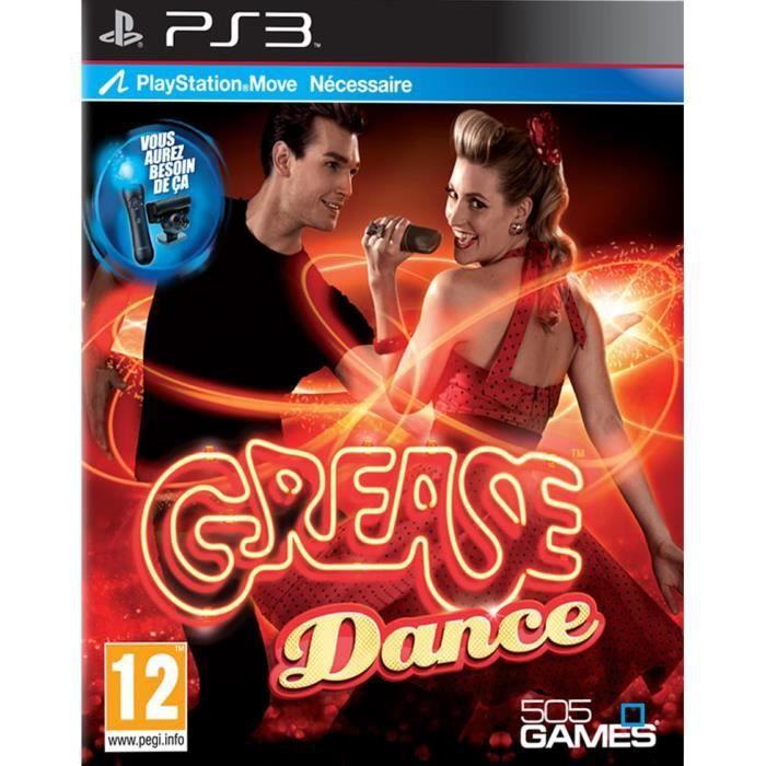 JEU PS3 GREASE / Jeu console PS3