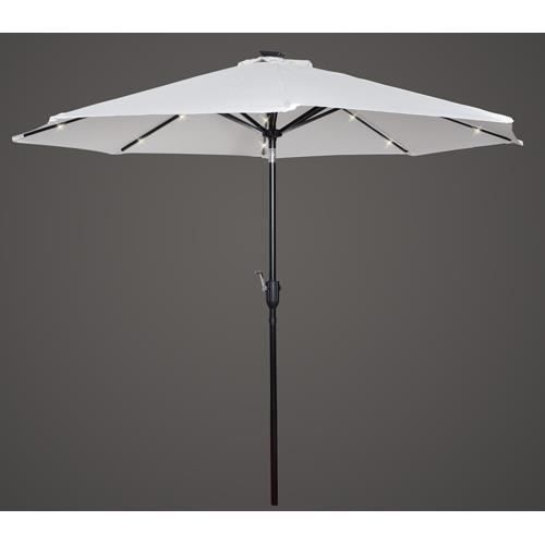 parasol lumineux inclinable a led solaire achat vente. Black Bedroom Furniture Sets. Home Design Ideas