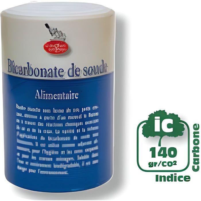 Bicarbonate de soude alimentaire 500 g achat vente for Detartrage bicarbonate de soude