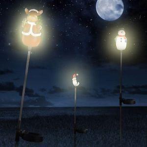 Luminaire lustre lampe lampadaire d tails ensemble de 3 for Lustre solaire exterieur