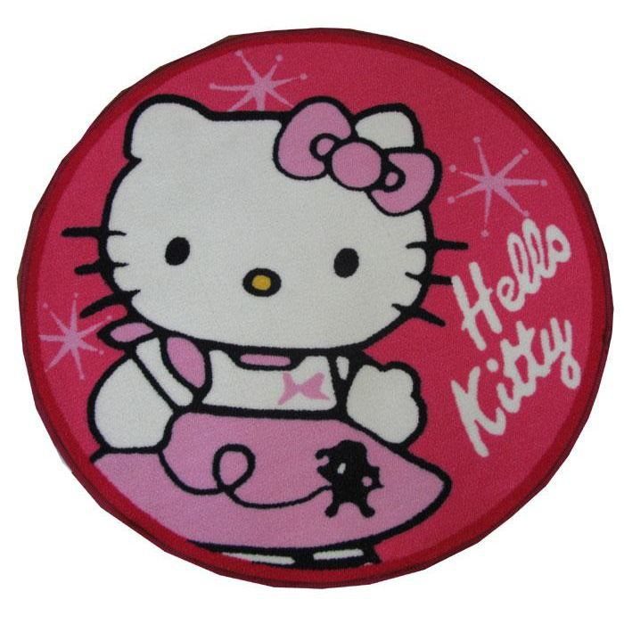 Tapis Hello Kitty Shape Achat Vente Tapis Cdiscount