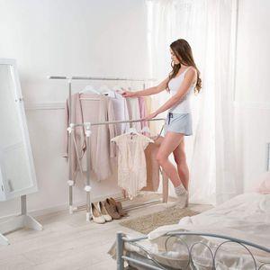 portant pour vetements achat vente portant pour vetements pas cher cdiscount. Black Bedroom Furniture Sets. Home Design Ideas